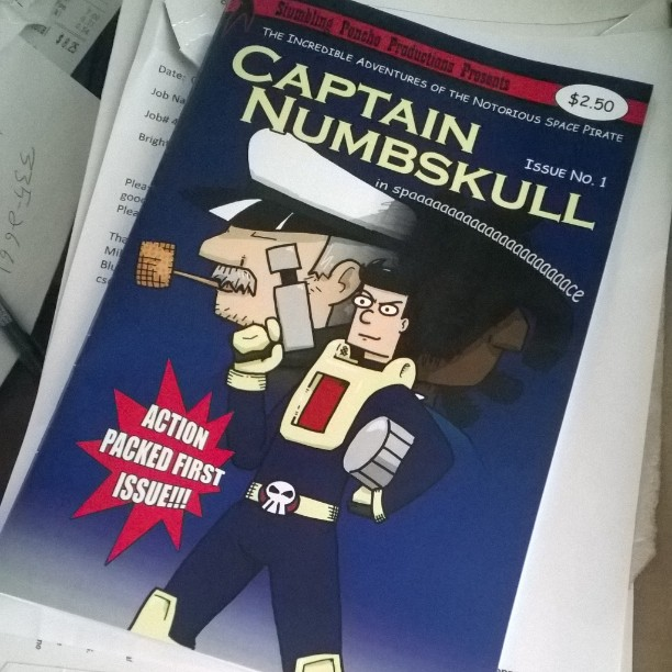 First printing of Captain Numbskull #1